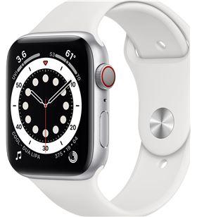 Apple MG2C3TY/A watch s6 44mm gps cellular caja aluminio con correa blanca sport band - MG2C3TYA