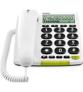 Sihogar.com +23567 #14 doro phone easy 312cs blanco teléfono fijo con cable pantalla altavoz manos - +23567 #14