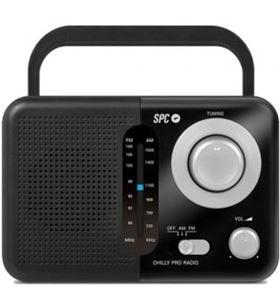 Spc -RADIO VALDI radio portátil valdi/ negra 4590n - SPC-RADIO VALDI