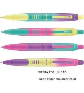Milan bolígrafo milán compact sunset - tinta azul - punta 1mm - colores surtidos 176568920sn - MIL-BOLI 176568920SN