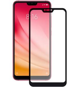 Protector pantalla vidrio templado Xiaomi redmi note 6 pro negro B9063SC07N - CONB9063SC07N
