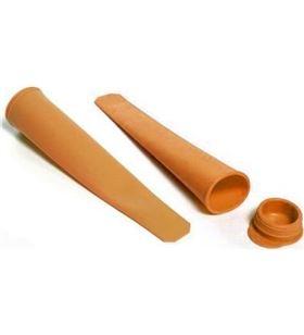 Sihogar.com pack 2 moldes de silicona para polos helados jocca 1981 - JOC-PAE-MOLDE 1981
