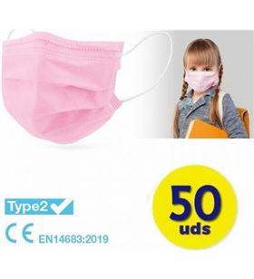 Sihogar.com caja de mascarillas quirurgicas infantiles iir club nautico 50 unidades - c cv-18-rs - CLU-MASC CV-18-RS