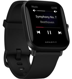 Reloj inteligente huami Amazfit bip u negro - bt 5.0 - multisport - control W2017OV1N - AMAZFIT BIP U BLACK