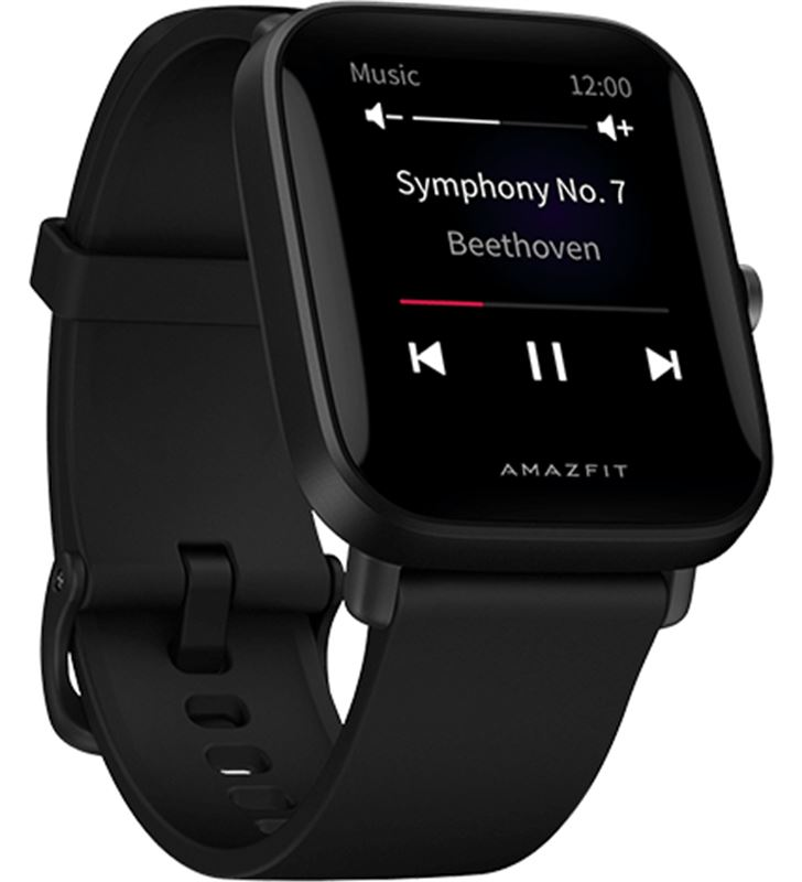 Amazfit W2017OV1N reloj inteligente huami bip u negro - bt 5.0 - multisport - control - AMAZFIT BIP U BLACK