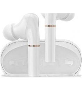 Xiaomi auriculares bluetooth haylou t19 con estuche de carga/ autonomía 5h/ blanco t19 wh - HAY-AUR T19 WH