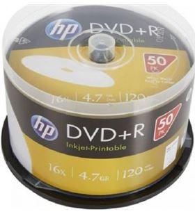 Dvd+r Hp DRE00026WIP-3 print 16x/ tarrina-50uds DVD Grabador - DRE00026WIP-3