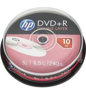 Dvd+r Hp DRE00060-3 dl 8x/ tarrina-10uds DVD Grabador - HP-DVD+R DRE00060-3