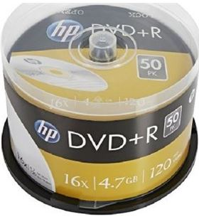 Hp DRE00026-3 dvd+r 16x/ tarrina-50-uds DVD Grabador - HP-DVD+R DRE00026-3