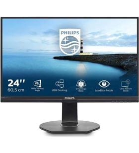 Philips L-M 241B7QUPEB monitor profesional 241b7qupeb 23.8''/ full hd/ multimedia/ negro 241b7qupeb/00 - PHIL-M 241B7QUPEB