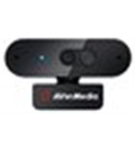 Sihogar.com A0035976 webcam fhd avermedia pw310p negro 1080p/30 fps/usb/auto foc 40aapw310avs - A0035976