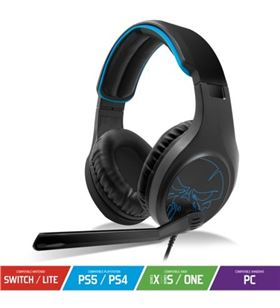 Auriculares con micrófono Spirit of gamer elite h20 - drivers 40mm - micróf MIC-EH20 - SOG-AUR MIC-EH20