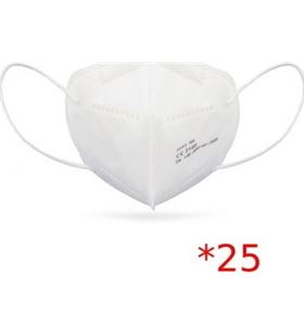 Sihogar.com CV-41 caja de mascarillas ffp2 club náutico 25 unidades - 5 capas protección - có - CLU-MASC CV-41