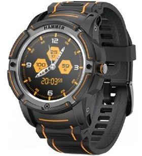 Smartwatch Hammer watch/ notificaciones/ frecuencia cardíaca/ gps/ negro HASWB - HAM-RELOJ WATCH BK