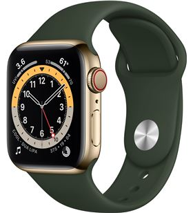 Apple watch series 6/ gps/ cellular/ 40mm/ caja de acero inoxidable en oro/ M06V3TY/A - M06V3TYA