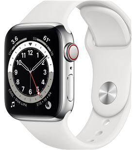 Apple watch series 6/ gps/ cellular/ 40mm/ caja de acero inoxidable en plat M06T3TY/A - M06T3TYA