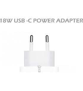 Sihogar.com +23723 #14 jc cargador blanco pared usb-c 18w carga rápida conect red 18w - +23723 #14