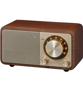 Sangean +23775 #14 wr-7 cerezo radio analógica sobremesa fm bluetooth batería li-ion r wr-7 cherry - +23775 #14