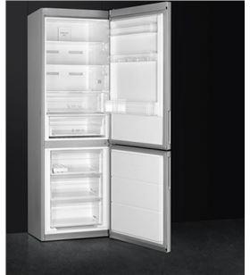 Smeg FC18EN1X frigorífico combi e inox nofrost 186cm - FC18EN1X