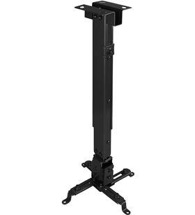 Tooq PJ2012T-B soporte de techo para proyector / inclinable/ hasta 20kg - PJ2012T-B