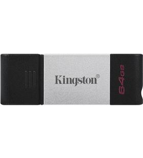 Ngs A0033818 pendrive 64gb usb-c 3.2 kiton dt80 plata dt80/64gb - DT8064GB