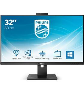 Philips L-M 326P1H monitor profesional 326p1h 31.5''/ qhd/ webcam/ multimedia/ negro 326p1h/00 - 326P1H00