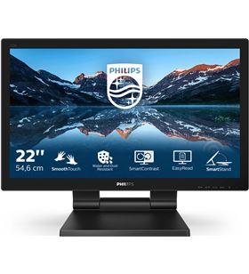 Philips L-M 222B9T monitor profesional táctil 222b9t 21.5''/ full hd/ multimedia/ negro 222b9t/00 - 222B9T00