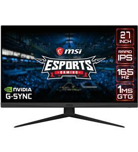 Msi A0036373 monitor gaming led 27 optix g273qf negro 1ms/2k/165hz/ 9s6-3ca81a-040 - 9S6-3CA81A-040