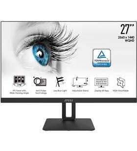 Msi A0034580 monitor led ips 27 pro mp271qp negro pivotable/altavoc 9s6-3pa3at-001 - 9S6-3PA3AT-001