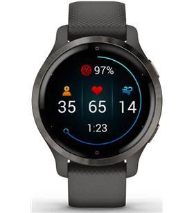 Garmin +23962 #14 venu 2s gris pizarra smartwatch multideporte wifi gps integrado frec venu 2s gps wif - +23962 #14