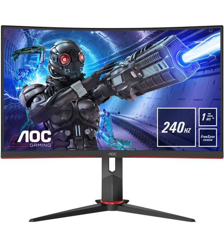 Aoc -M C32G2ZE BK monitor gaming curvo c32g2ze 31.5''/ full hd/ negro c32g2ze/bk - AOC-M C32G2ZE BK