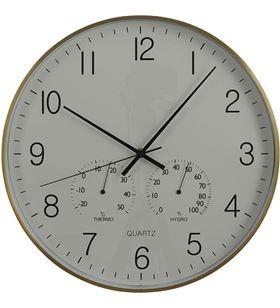 Mica 83567 #19 reloj de pared andy dorado-aluminio ø 40x5 cm 8718861619157 - 83567 #19