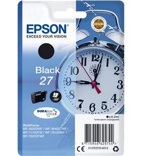 Epson C13T27014012 tinta 27 durabrite negro Cámaras fotografía digitales - C13T27014012