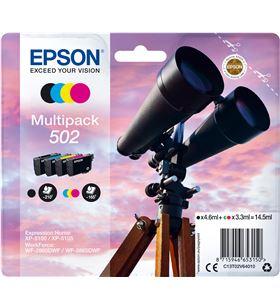 Epson C13T02V64020 multipack tintas 502 4 colores Cámaras fotografía digitales - C13T02V64020