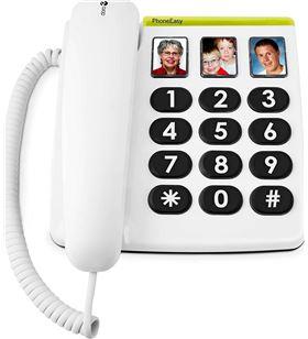 Sihogar.com +23568 #14 doro phone easy 331ph blanco teléfono fijo con cable botones foto - +23568 #14