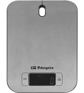 Orbegozo -PAE-BAS PC 1017 báscula de cocina pc 1017 - hasta 5kg - precisión 1g - función tar 17549 - ORB-PAE-BAS PC 1017