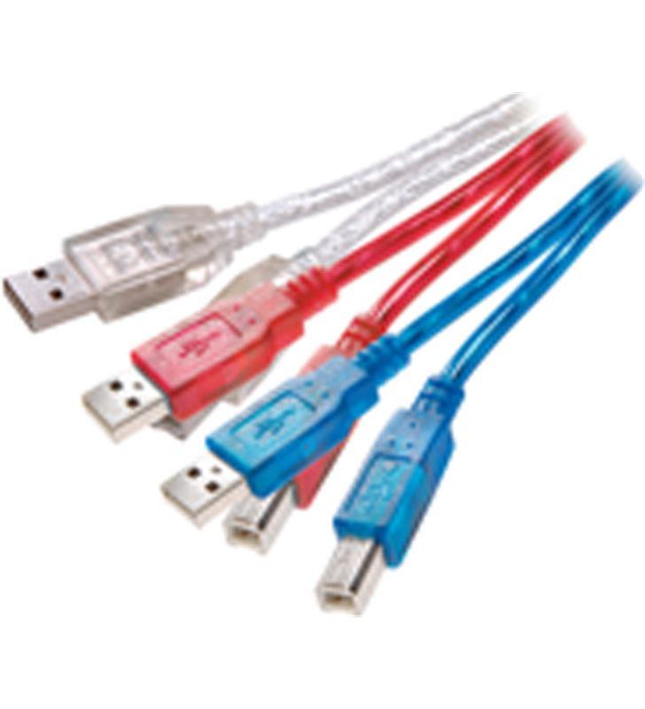 Cable usb 2.0 a-b, 1,5 m colores Vivanco 22854 Cables - 22854