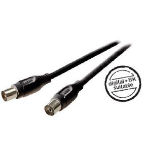 Cable ant macho -antena he 90db 3m, Vivanco 43023