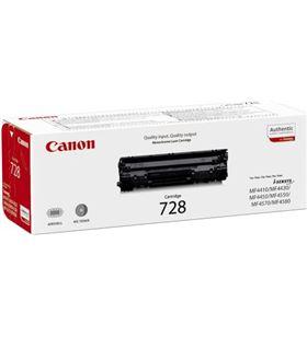 Cartucho tinta de toner Canon CRG-728 negro- 2100s - CRG-728