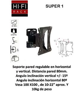 Hifirack soporte tv vesa super1 8175784