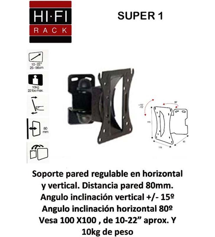 Hifirack soporte tv vesa SUPER1 Soportes para televisores - SUPER1