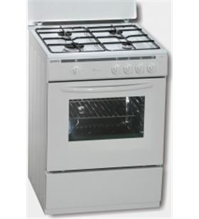 Rommer cocina convencional VCH460NAT , natural , 4 fuegos - VCH460NAT