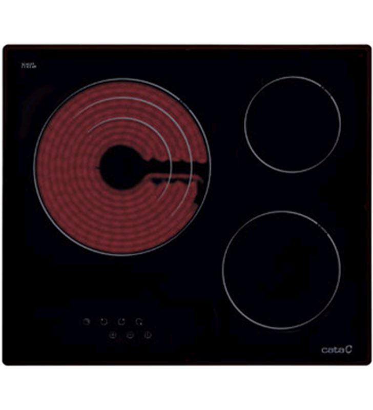 Cata placa vitroceramica tt603 3fuegos 60cm 08063007 - 08063007