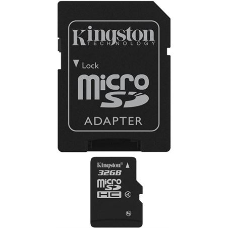 Kingston microsd 32gb - tarjeta de memoria flash b SDC4/32GB - SDC432GB