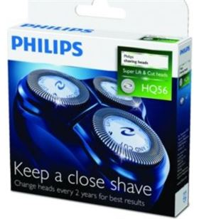 Conjunto cortante Philips pae, pack de 3 cabezales hq5650