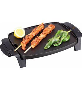 Plancha cocina Jata GR205, 1000w, 28x22, antiadhe Barbacoas, grills y planchas