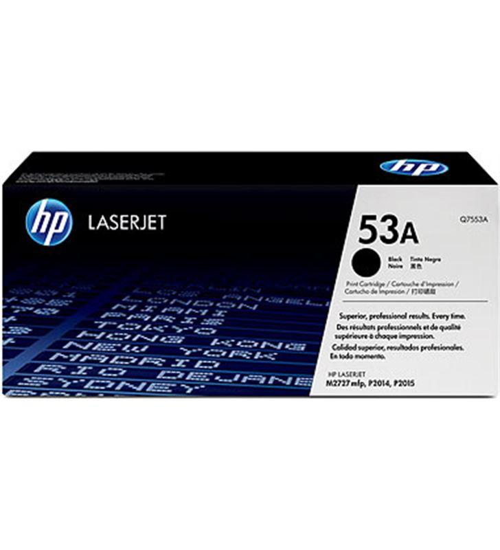 Hp Q7553A cartucho tinta de toner nº 53a negra Fax digital cartuchos - Q7553A