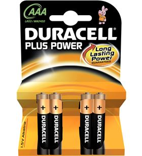 Pilas alc. Duracell aaa lr03 plus power 4kp LR03K4 - AAAMN2400PLUS