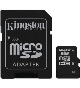 Kingston microsd 8gb - tarjeta de memoria flash mb KINMICROSD8GB_A