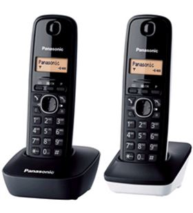 Panasonic KXTG1612SP1 telefono inal kx-tg1612sp1 duo bl - KXTG1612SP1